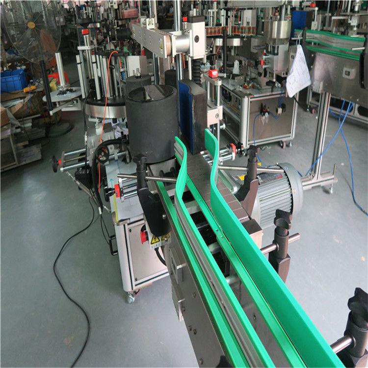 兩台不干膠自動貼標機雙面貼標機6000-8000 B / H