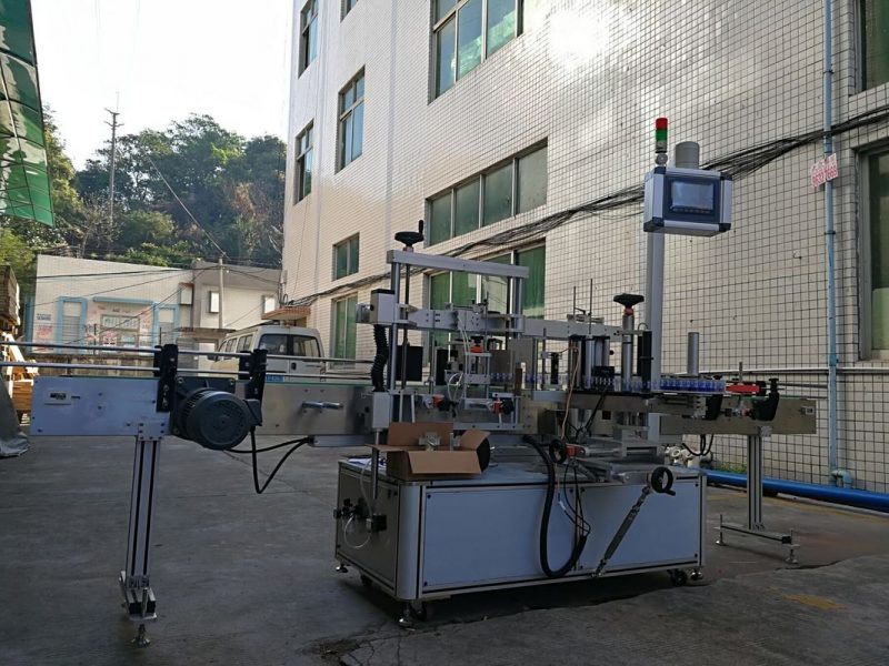 中國不干膠單面平瓶貼標機供應商